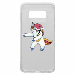 Чохол для Samsung S10e Christmas Unicorn