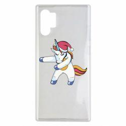 Чохол для Samsung Note 10 Plus Christmas Unicorn