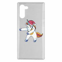 Чохол для Samsung Note 10 Christmas Unicorn