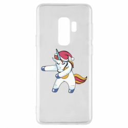 Чохол для Samsung S9+ Christmas Unicorn