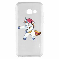 Чохол для Samsung A3 2017 Christmas Unicorn