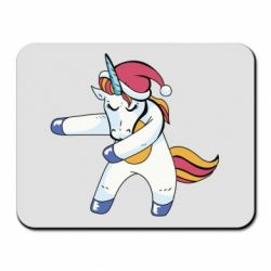 Килимок для миші Christmas Unicorn
