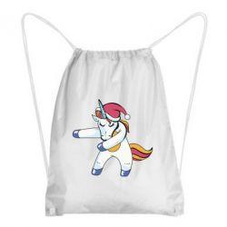 Рюкзак-мішок Christmas Unicorn