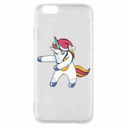 Чохол для iPhone 6/6S Christmas Unicorn