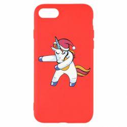 Чохол для iPhone 7 Christmas Unicorn