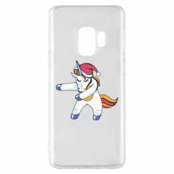 Чохол для Samsung S9 Christmas Unicorn