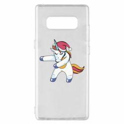 Чохол для Samsung Note 8 Christmas Unicorn