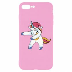 Чохол для iPhone 8 Plus Christmas Unicorn
