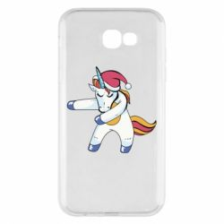 Чохол для Samsung A7 2017 Christmas Unicorn