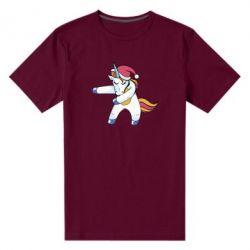 Чоловіча стрейчева футболка Christmas Unicorn