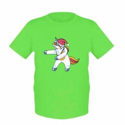 Дитяча футболка Christmas Unicorn