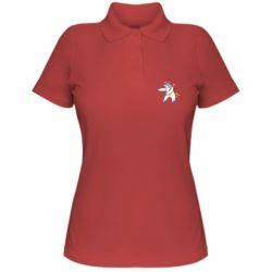Жіноча футболка поло Christmas Unicorn