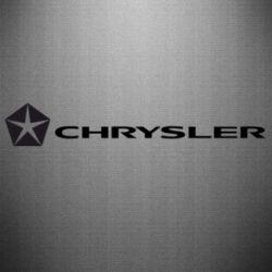 Наклейка Chrysler Logo - FatLine
