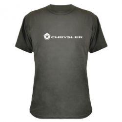 Камуфляжная футболка Chrysler Logo - FatLine
