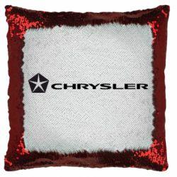 Подушка-хамелеон Chrysler Logo