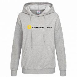 Женская толстовка Chrysler Logo - FatLine