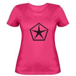 Женская футболка Chrysler Star