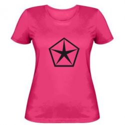 Женская футболка Chrysler Star - FatLine