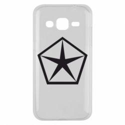 Чехол для Samsung J2 2015 Chrysler Star