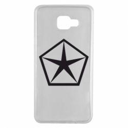 Чехол для Samsung A7 2016 Chrysler Star