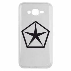 Чехол для Samsung J7 2015 Chrysler Star