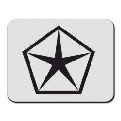 Коврик для мыши Chrysler Star - FatLine