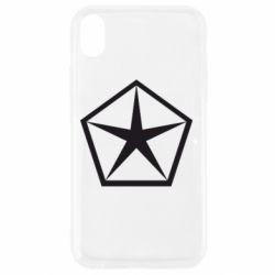 Чехол для iPhone XR Chrysler Star
