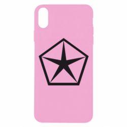 Чехол для iPhone Xs Max Chrysler Star