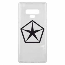 Чехол для Samsung Note 9 Chrysler Star