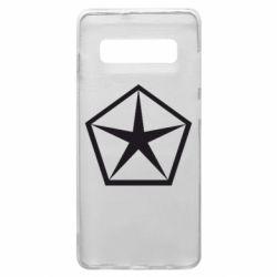 Чехол для Samsung S10+ Chrysler Star