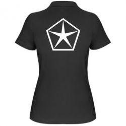 Женская футболка поло Chrysler Star - FatLine