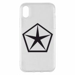 Чехол для iPhone X/Xs Chrysler Star