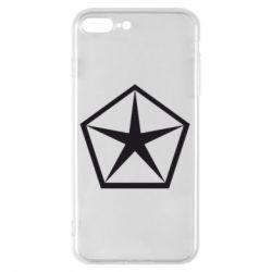 Чехол для iPhone 8 Plus Chrysler Star