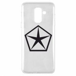 Чехол для Samsung A6+ 2018 Chrysler Star
