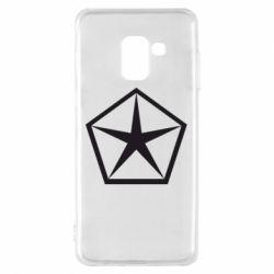 Чехол для Samsung A8 2018 Chrysler Star