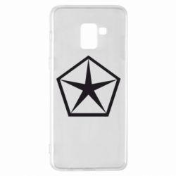 Чехол для Samsung A8+ 2018 Chrysler Star