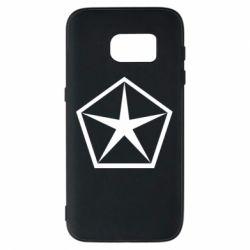Чехол для Samsung S7 Chrysler Star