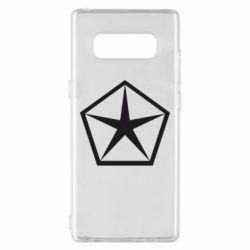 Чехол для Samsung Note 8 Chrysler Star