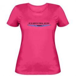 Женская футболка Chrysler