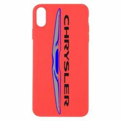 Чехол для iPhone Xs Max Chrysler