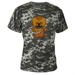 Камуфляжная футболка Чубакка - FatLine