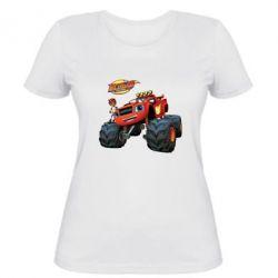 Женская футболка Чудо-машинки. Вспыш.