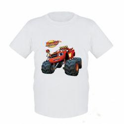 Купить Детская футболка Чудо-машинки. Вспыш., FatLine