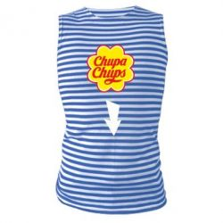 Купить Майка-тельняшка Chupa Chups, FatLine