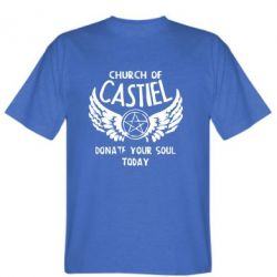 Мужская футболка Church of Castel - FatLine