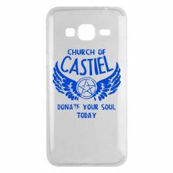 Чохол для Samsung J3 2016 Church of Castel