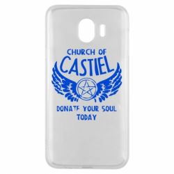 Чохол для Samsung J4 Church of Castel