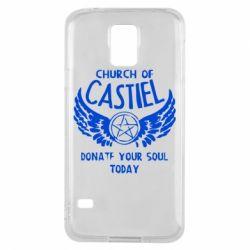 Чохол для Samsung S5 Church of Castel