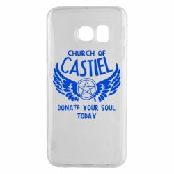 Чохол для Samsung S6 EDGE Church of Castel