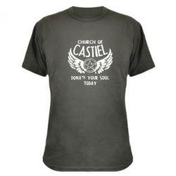 Камуфляжная футболка Church of Castel - FatLine